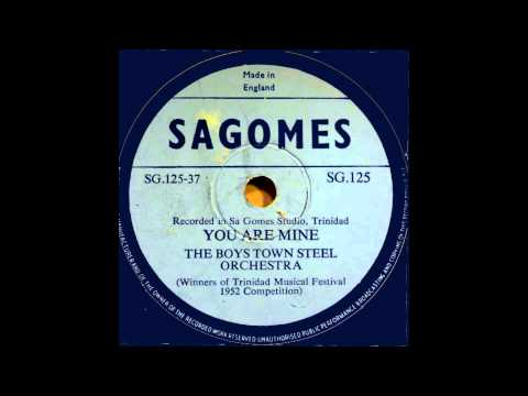 The Boys Town Steel Orchestra - You are mine
