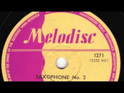 Saxophone No. 2 [10 inch] - Lord Kitchener with Fitzroy Coleman's Trinidad Ragers