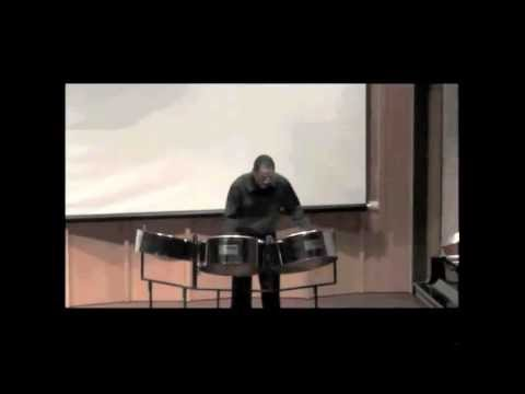 Violin Partita #3 in E, BWV 1006 by J.S. Bach performed on steelpans by Barry Mannette