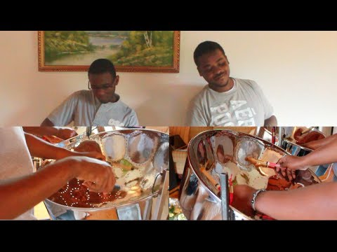 "Machel Montano - HMA (Steelpan Cover) ""Happiest Man Alive"""