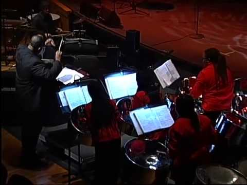 Overture in A Minor - Telemann, performed by The Lydian Steel Ensemble, Trinidad and Tobago