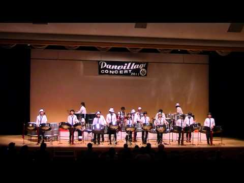 Panland Steel Orchestra' Man In The Mirror','Smooth Criminal' panvillage コンサート