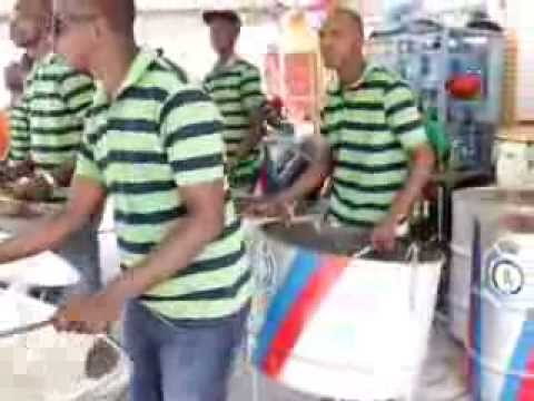 Guyana Police Steel Orchestra - 2013 Christmas performance
