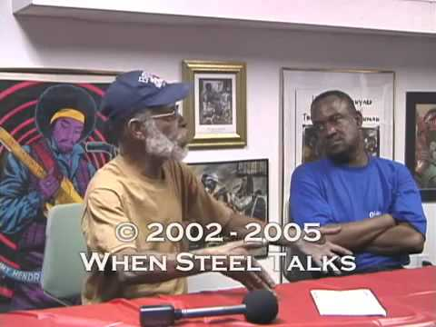 Clive Bradley and  Pelham Goddard chat at Basement with When Steel Talks - Part One