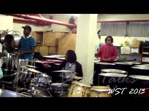 America's Got Talent - Brooklyn Steel Orchestra - Get Lucky - Practice Video