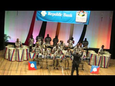 Guyana Police Force Steel Orchestra - Guyana Panorama 2014