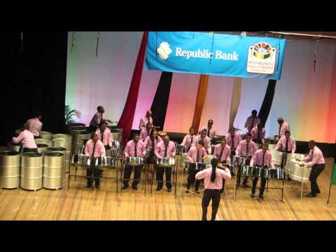 National School of Music Steel Orchestra - Guyana Panorama 2014