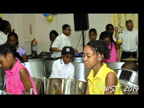 """Happy"" the voice of Despers USA Juniors Steel Orchestra"