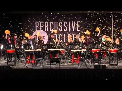 Float performed by Iowa Percussion at PASIC 2013