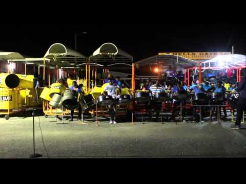 Nobody Go Run Me - Hells Gate Steel Orchestra - 2014 Panyard Performance - arranger Khan Cordice