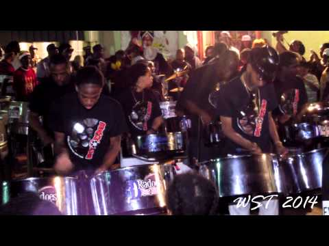 Big People Party - D'Radoes Steel Orchestra - 2014 Launch