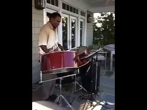 Ricky Micou on Steel Drums