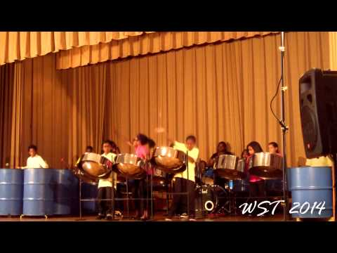 Brooklyn's P.S. 161  performs at CASYM Steel Orchestra Spring Concert 2014