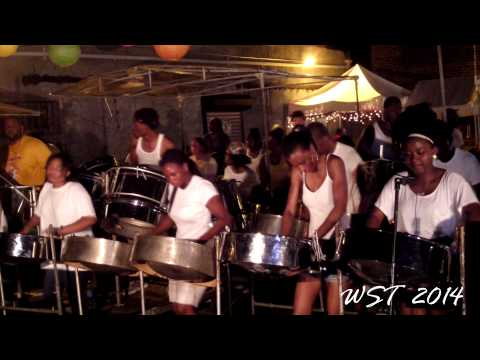 CrossFire Steel Orchestra - Big In De Dance - Cool Down version - Panorama 2014 - Panyard Recordings