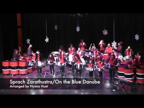Sprach Zarathustra/On the Blue Danube - Afropan Steelband (arranged by Nyima Huet)