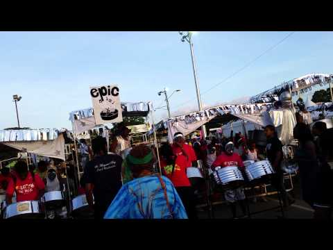 St. Margaret's Boys Steel Orchestra performs EPIC
