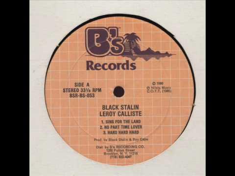 """""""No Pan"""" - Black Stalin (1986)"""