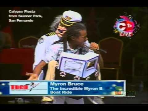Myron  Bruce - Boat Ride | Calypso Fiesta 2016