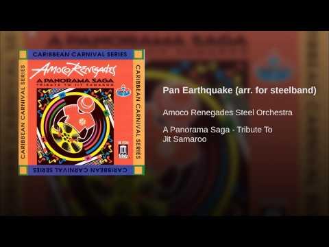 "Renegades ""Pan Earthquake"" ( Lord Kitchener ) A Jit Samaroo arrangement"
