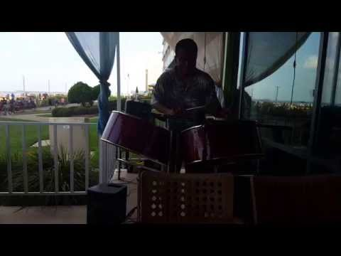 Ricky Micou playing  at Holiday Inn  Ocean Front