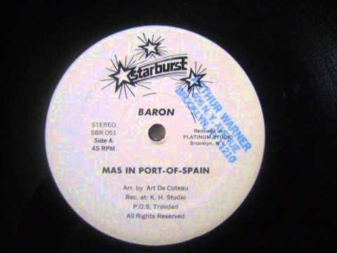 Mas In Port-Of-Spain - Baron
