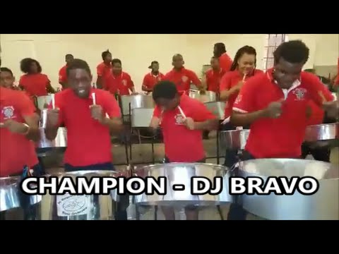 Champion (DJ Bravo) - St. Margaret's Youth Steel Orchestra