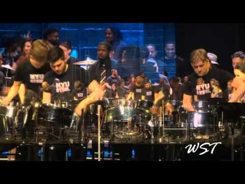 NYU Steel & Brooklyn Steel Orchestra - Ah Feeling Ah Feeling