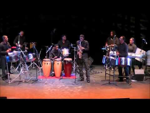 Codrington Pan Family - Pan In Harmony (Live performance)