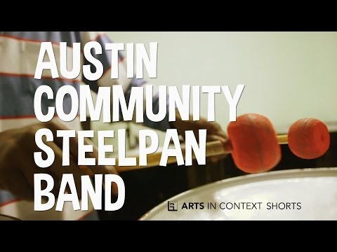Austin Community Steelpan Band With Former Despers Captain & Teacher Cecil Francis still Doing Something For pan
