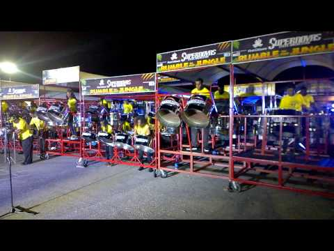 Supernovas Steel Orchestra / 'Rumble  In The Jungle' / Panorama Preliminaries 2017