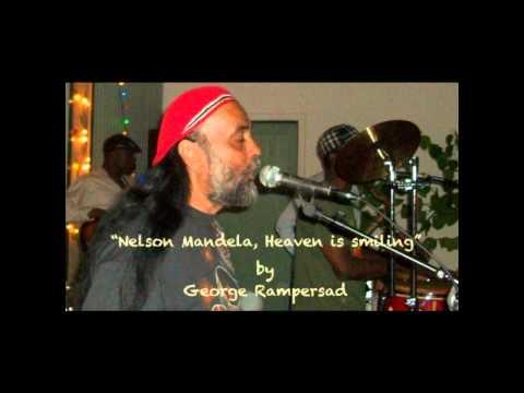 Nelson Mandela, Heaven is smiling