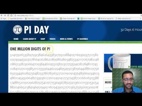 ¿Qué es Pi?¿Cuánto es Pi?