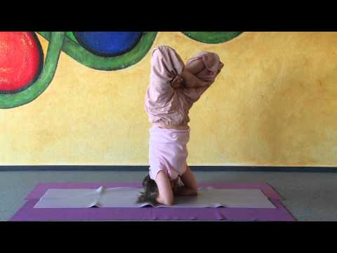 Headstand in Lotus - Urdhva Padmasana