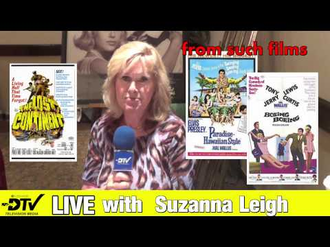 Suzanna Leigh - Station ID for Definitive Television