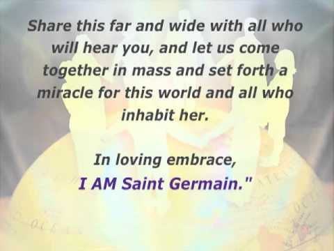 1st Jan 2011: Miracles Conference Call With Saint Germain