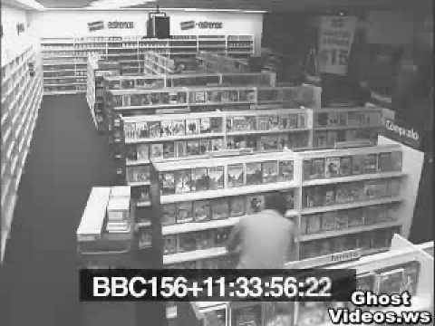 Ghost Videos - Scary Videos - Real Ghosts - Poltergeist Haunts a Blockbuster Video Store.flv