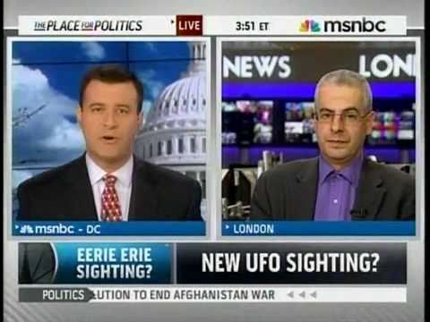 FAA & Cleveland Airports Report Lake Erie UFO's Nothing They Are Doing - MSNBC - Disclosure......May 7, 2011