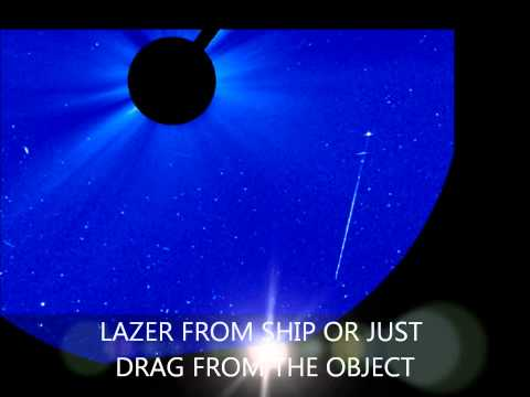SOHO - Satellite -  UFO SUN WATCH MAY 23 2011