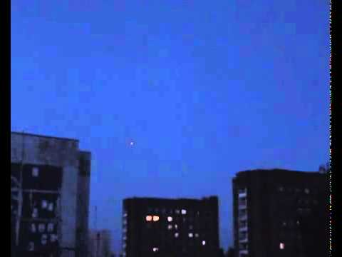UFO circling the sky in Bobruisk, Belarus - June 10, 2011