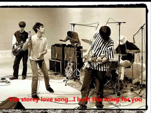 THE STONE ROSES - Ten Storey Love Song (lyrics included, 1994)