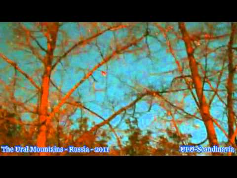Glowing UFO cruising over The Ural Mountains - Russia - July 31 2011