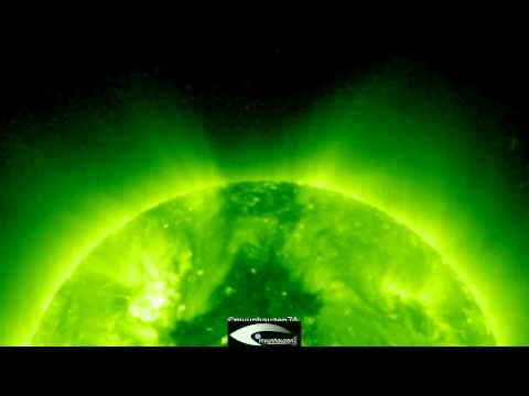 """UFO - """"Beacon"""" at the north pole of the Sun. Surveillance for the period from January to July 2011"""