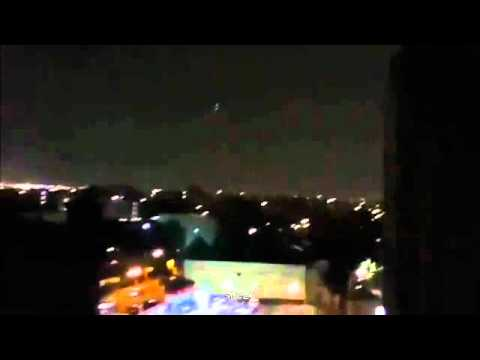 Bronx, NY UFOs - Multiple Witness Videos - August 26, 2011