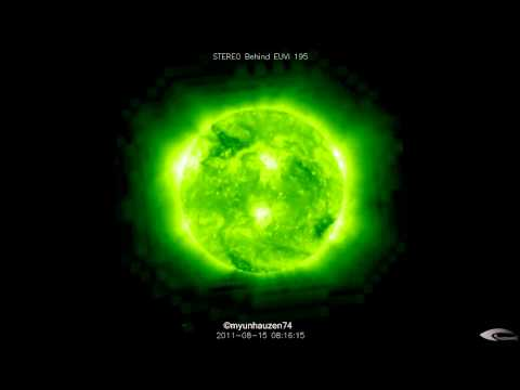 UFO activity in the orbit of the Sun - August 15, 2011