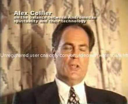 Alien Contactee Alex Collier Speaks Out - 1994 (1 of 12)