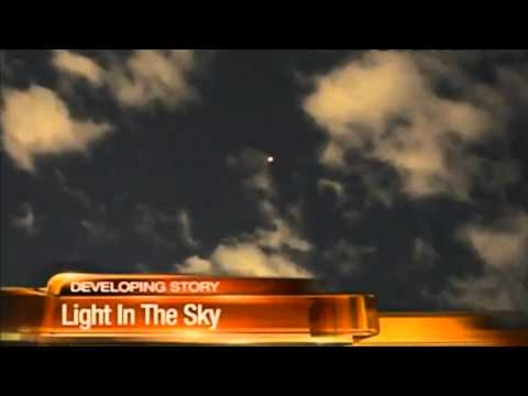 Ball of Light , UFO in Phoenix Sky reported on ABC15 - September 2011 (HD)