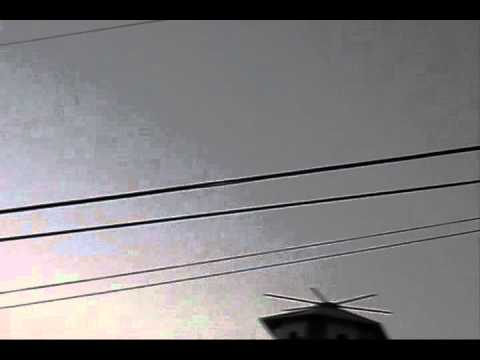 U.F.O. (10/04/11) Austin, Texas. Pay attention to the end. 'Unidentified' Flying Object