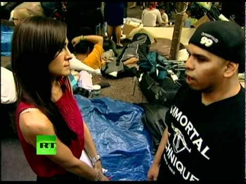 """Immortal Technique at Occupy Wall Street: """"We are here to stay"""""""