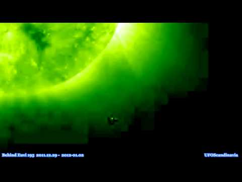 SOHO Satellite - Intriguing Stereo Images from behind the Sun. NASA Stereo 2011.12.29 - 2012-01-02