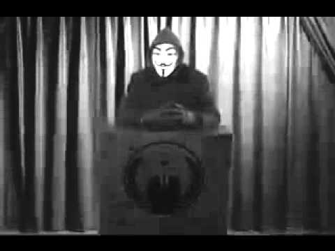 Anonymous- To Illuminati - WE WILL Hijack the Air Waves - December 24, 2011